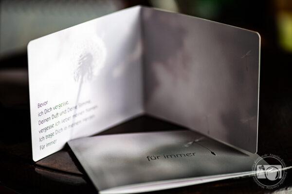 Trauerkarte - Pusteblume
